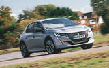 Britain's Best Car Awards 2020 - Peugeot e-208 - front