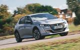 Britain's Best Car Awards 2020 - Peugeot e-208 - front