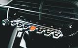 Britain's Best Car Awards 2020 - Peugeot e-208 - centre console