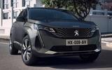 2021 Peugeot 3008 - front