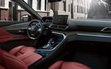 2021 Peugeot 3008 - dashboard