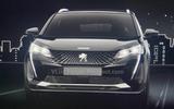 Peugeot 3008 facelift leaked images front