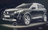Peugeot 3008 facelift leaked images front side