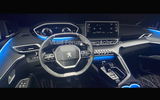 Peugeot 3008 facelift leaked images interior