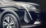 Peugeot 3008 facelift leaked images light