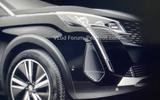 Peugeot 3008 facelift leaked images light