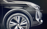 Peugeot 3008 facelift leaked images wheel