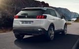 2021 Peugeot 3008 - rear