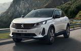 2021 Peugeot 3008 - hero front