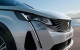 2021 Peugeot 3008 - front detail