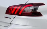 Peugeot 308 rear lights