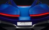 Pininfarina PF0 rear teaser