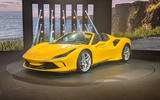2020 Ferrari F8 Spider reveal - front