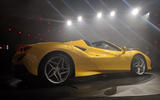 2020 Ferrari F8 Spider reveal - rear
