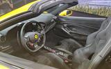 2020 Ferrari F8 Spider reveal - interior