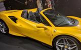 2020 Ferrari F8 Spider reveal - side