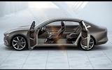 Pininfarina H600 side interior