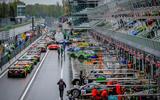 Porsche 911 GT3 R pit lane