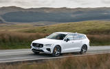 Volvo V60 T8 Polestar Engineered 2019 UK first drive review - tracking left