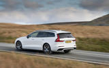 Volvo V60 T8 Polestar Engineered 2019 UK first drive review - tracking right