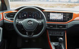 Volkswagen Polo dashboard