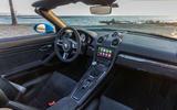 Porsche 718 Boxster GTS dashboard