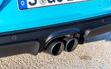 Porsche 718 Boxster GTS dual exhaust system