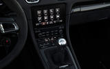Porsche 718 Boxster GTS infotainment system