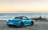 Porsche 718 Boxster GTS rear quarter