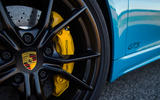 Porsche 718 Boxster GTS yellow brake calipers