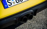 Porsche 718 Cayman GTS dual exhaust