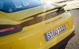 Porsche 718 Cayman GTS rear spoiler