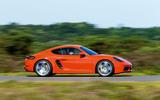 Porsche 718 Cayman side