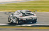 Porsche 911 GT2 RS rear cornering