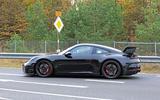 2020 Porsche 911 GT3 spies production body side