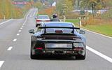 2020 Porsche 911 GT3 spies prolongation physique exhaust