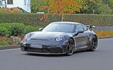 2020 Porsche 911 GT3 spies production body front