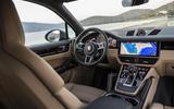 Porsche Cayenne S dashboard