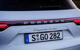 Porsche Cayenne Turbo badging