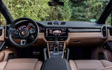 Porsche Cayenne Turbo dashboard