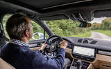 Andrew Frankel driving the Porsche Cayenne Turbo