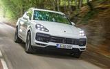 4 star Porsche Cayenne Turbo