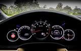 Porsche Cayenne Turbo instrument cluster