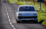 Porsche Cayenne Turbo on the road