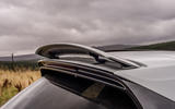 Porsche Cayenne Turbo rear spoiler