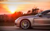2017 Porsche Panamera Turbo S E-Hybrid wheel arch