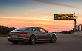 2017 Porsche Panamera Turbo S E-Hybrid side and back