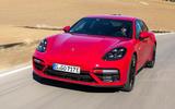 Porsche Panamera Turbo S E-Hybrid Sport Turismo cornering