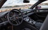 Porsche Panamera Turbo S E-Hybrid Sport Turismo interior
