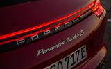 Porsche Panamera Turbo S E-Hybrid Sport Turismo badging